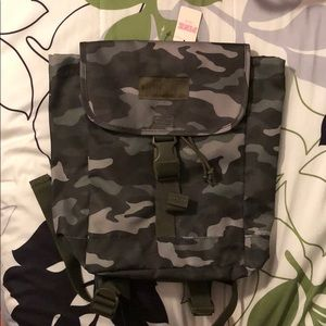 NWT Victoria's Secret Camo Backpack